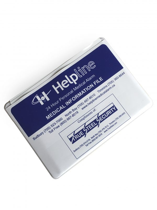 Helpline Medical Alarm Medical Pouch